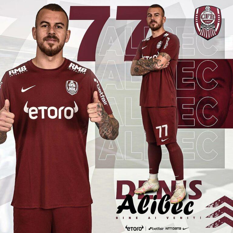 Denis Alibec a fost prezentat oficial la CFR Cluj