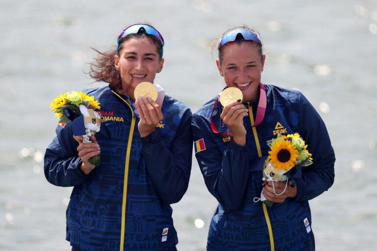 Ancuța Bodnar și Simona Radis – campioane olimpice la dublu vâsle!