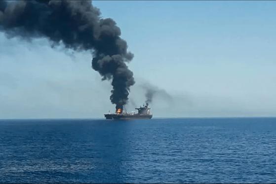 """România condamnă atacul cu drona asupra vasului """"Mercer Street"""" – Ambasadorul Iranului este chemat la București să de-a explicații"""